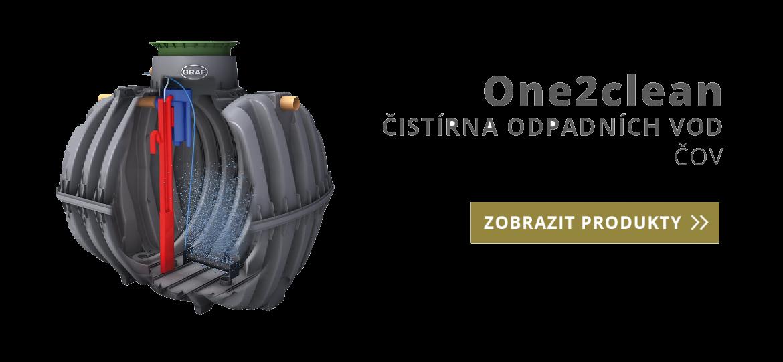 One2clean - čistírna odpadních vod ČOV