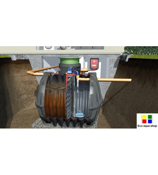 ČOV, Čistička, čistírna odpadních vod - GRAF Klaro Easy 2 - 5 EO