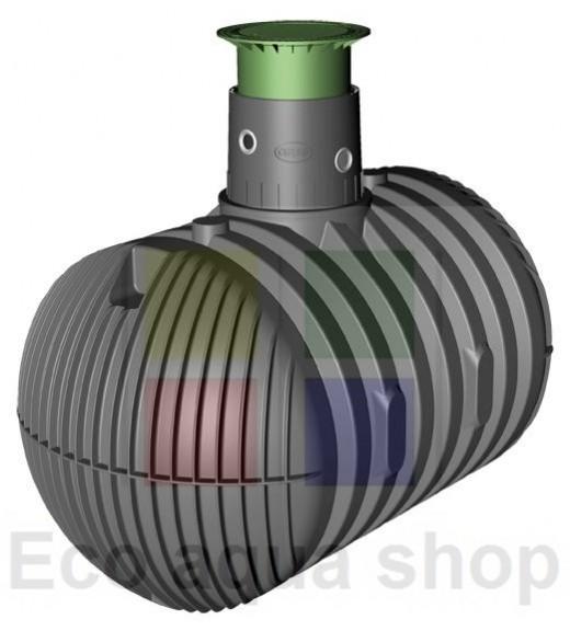 Carat XL 8500 l samonosná plastová jímka, nádrž, zásobník na dešťovou vodu