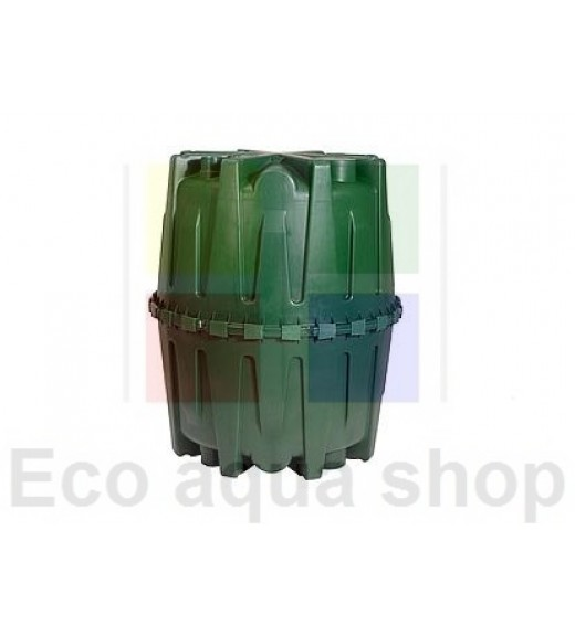 Herkules 1600l plastová nadzemní jímka, nádrž, zásobník na dešťovou vodu