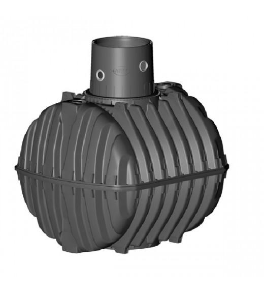 Carat 3750 l samonosná plastová jímka, nádrž, zásobník na dešťovou vodu