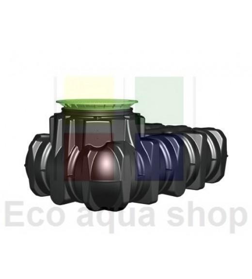 Platin 1500 l samonosná plastová jímka, nádrž, zásobník na dešťovou vodu