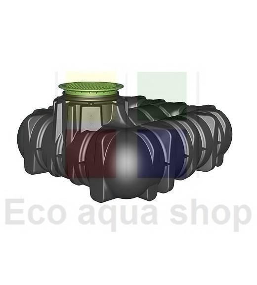 Platin 3000 l samonosná plastová jímka, nádrž, zásobníky na dešťovou vodu