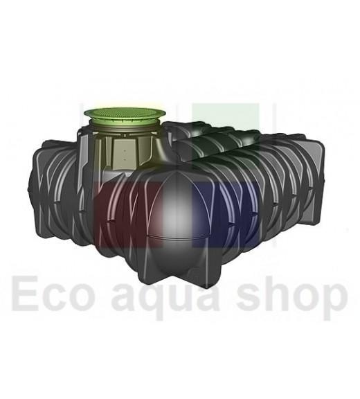 Platin 5000 l samonosná plastová jímka, nádrž, zásobník na dešťovou vodu