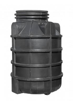 Plastová samonosná šachta na vrt, šachta na vrtanou studnu šířka 1100 mm, výška 1500 mm
