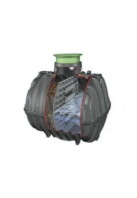 Septik, žumpa Carat 3750 l na splaškovou vodu 2 komory